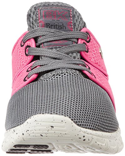 Tempo Sneakers peach Grey British 12 Grau Dk Knights Damen pqPT15