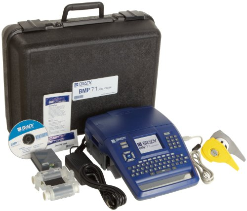 Brady BMP71 Label Printer with MarkWare Lean Software and USB Connectivity