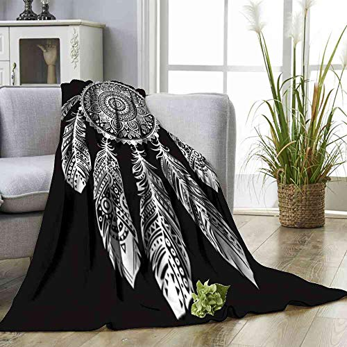 - Big datastore Blanket i ndian Dream Catcher Print Artwork Image Size:60