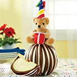 Double Chocolate Peanut Butter Almond Jumbo Caramel Apple Gift