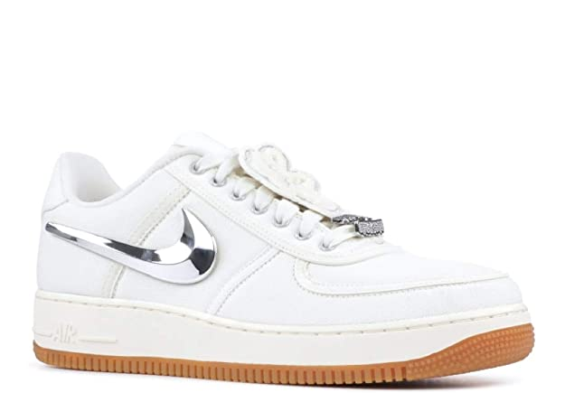 Amazon.com | NIKE AIR Force 1 Low Travis Scott Mens Sneaker AQ4211-101 | Running
