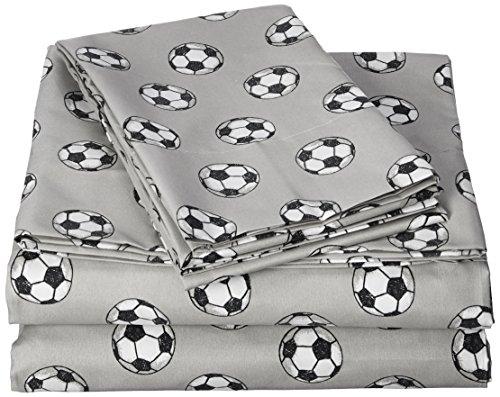 Pillowfort Soccer Sheet Set - Soccer Set Queen Sheet