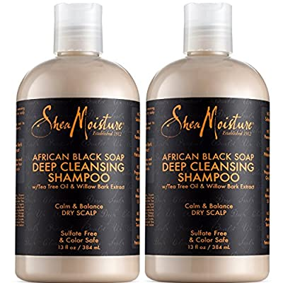 Shea Moisture African Black Soap Deep Cleansing Shampoo