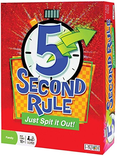 Patch-5-Second-Rule-Just-Spit-It-Out-New-Free-Shipping