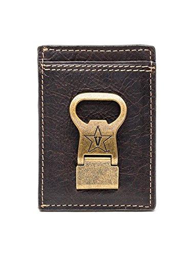 Price comparison product image Vanderbilt Commodores Gridiron Multicard Front Pocket Wallet