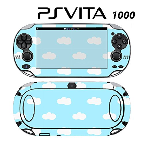 Skin Decal Cover Sticker for Sony PlayStation PS Vita (PCH-1000) - Blue Cloud -  Decals Plus, PV1-PA28