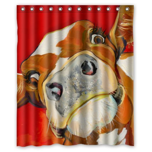 Red Cow Print - 60