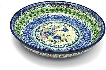 Polish Pottery Bowl Pasta Serving Large Unikat Signature U4600 Pasta Bowls