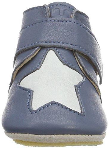 Easy PeasyKINY ETOILE - patucos y zapatillas de estar por casa Bebé-Niños Azul - Blau (526 denim/inwi)