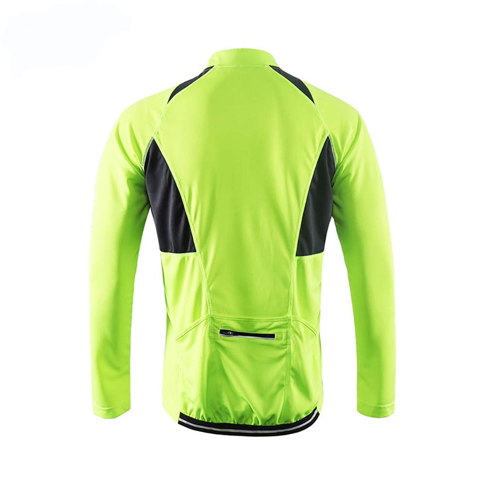 Sunbike Mens Breathable Long Sleeve Cycling Jerseys Cycling Shirts Bicycle Tops for Bike Biker Bicycle