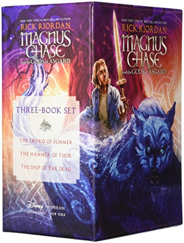 Magnus Chase and the Gods of Asgard Hardcover Boxed Set by Disney-Hyperion (Image #1)