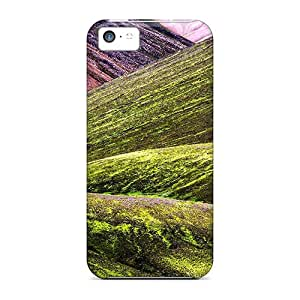 For Iphone 5c Fashion Design Fantastic Mountain Bases Case-EJtHx283sNStC