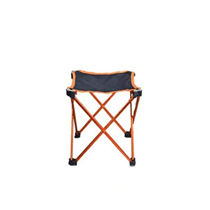Spubote Outdoor Folding Stool Camping Lightweight Portable Chair to Carry Mini Aluminum Folding Sturdy Stool Beach,600D Oxford Cloth with Carry Bag Camping Lightweight Portable Stool Carry Mini Aluminum Folding Sturdy Stool Beach