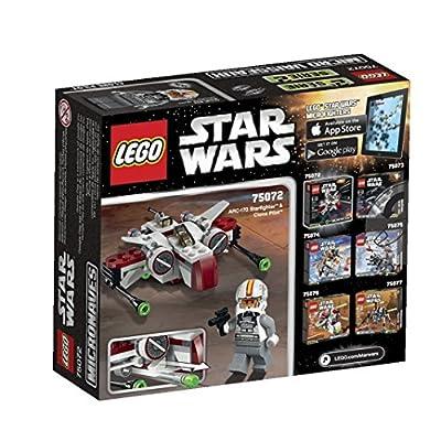 LEGO Star Wars ARC-170 Starfighter Toy: Toys & Games