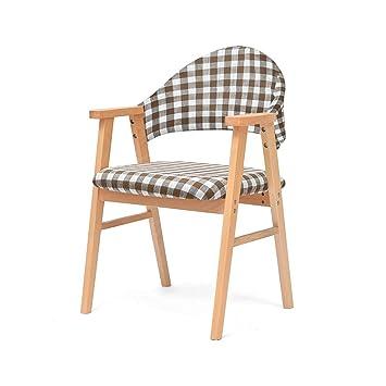 SFFSYAB Esszimmerstühle-Küche Stühle Wohnzimmer Lounge Stühle Retro ...