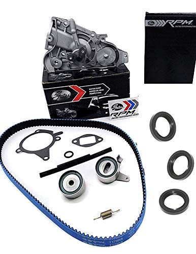 APSG Gates Racing Timing Belt | Mazda Miata Kit - 1.6L 1990 1991 1992 1993 | Water Pump, Tensioner, Idler, Seals