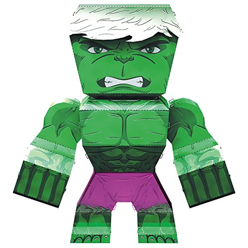 Fascinations Metal Earth Marvel Legends Hulk 3D Metal Model Kit ()