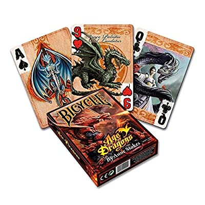 Bicycle Anne Stokes Age of Dragons Playing Cards: Toys & Games
