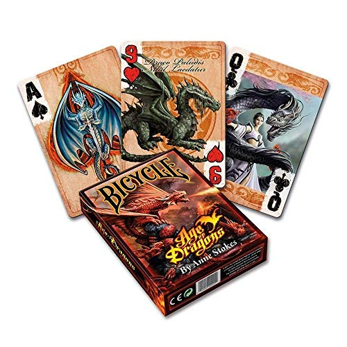 Bicycle Anne Stokes Age of Dragons Playing Cards (Bicycle Deck Playing Cards)