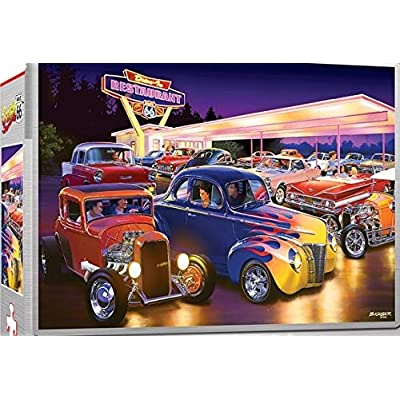Masterpieces Puzzle Friday Night HOT RODS - 750 Piece Jigsaw Puzzle: Toys & Games