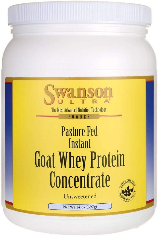 Swanson Goat Whey Protein Concentrate 14 Ounce 397 g Pwdr