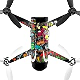MightySkins Protective Vinyl Skin Decal for Parrot Bebop 2 Quadcopter Drone wrap cover sticker skins Drag Queens