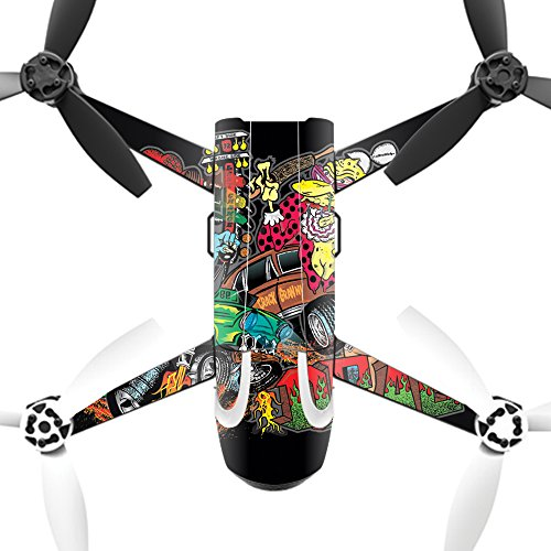 MightySkins Protective Vinyl Skin Decal for Parrot Bebop 2 Quadcopter Drone wrap cover sticker skins Drag Queens by MightySkins