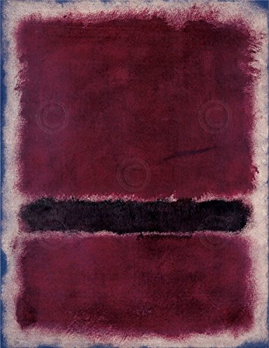 (Untitled 1963 by Mark Rothko Abstract Contemporary Print Poster 26x32 )