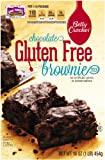 Betty Crocker Gluten Free Brownie Mix, 16-Ounce Boxes (Pack of 6)