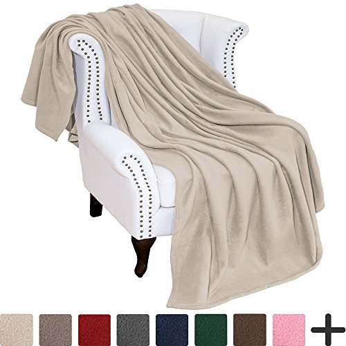 Polar Fleece Cozy Bed Blanket - Hypoallergenic Premium Poly-