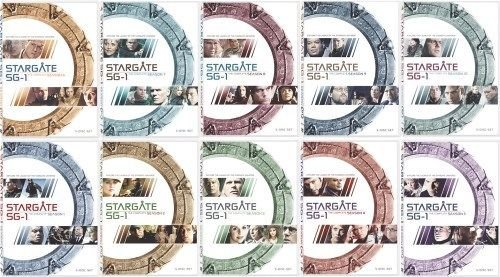 Stargate SG-1 Complete Series Seasons 1-10 Collection by