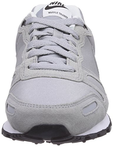 Nike Air Waffle Trainer, Scarpe da Ginnastica da Uomo Grigio (Wolf Grey/Wolf Grey-blk-white 092)