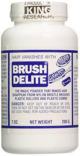 Barbicide BA-90720 Brush Delite Hair Eliminator, 4 Count