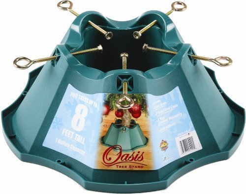 Handythings Christmas Tree Stand, for Trees Up to 8-Feet, 1.3-Gallon Water Capacity (Best Christmas Tree Stand For Real Trees)