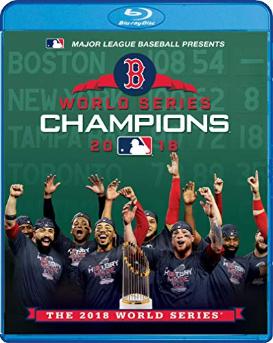 Major League Baseball: 2018 World Series Boston Red Sox Vs Los Angeles Dodgers [Blu-ray]