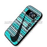 Just Do It Nike Aztec Custom Case for Samsung Galaxy S4 S5 S6 (Samsung Galaxy S6 black)