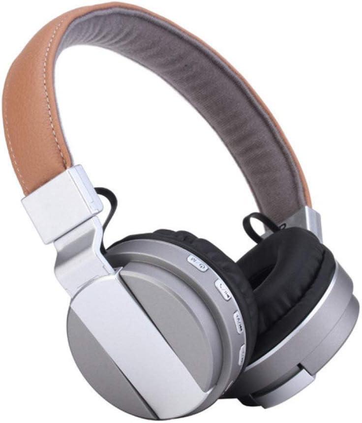 ZLAHY Reloj Inteligente Nuevos Auriculares inalámbricos Bluetooth para Auriculares BT-008 Auriculares Plegables Auriculares Bluetooth con micrófono para Sumsang ipone