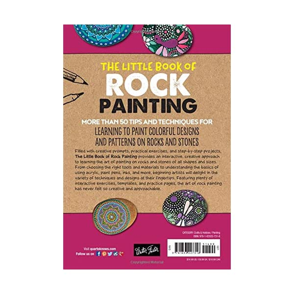 The-Little-Book-of-Rock-Painting-More-than-50-tips-and-techniques-for-learning-to-paint-colorful-designs-and-patterns-on-rocks-and-stones-Paperback–April-30-2019
