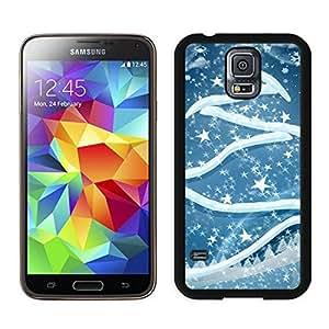 Great Quality Art Christmas Tree Black Samsung Galaxy S5 Case 2