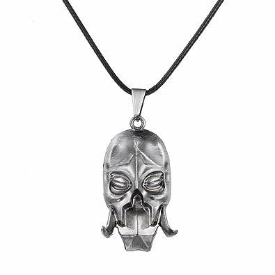 Lureme The Elder Scrolls V: Skyrim Dragon Priest Mask Necklace Alloy  Pendant (nl005391)