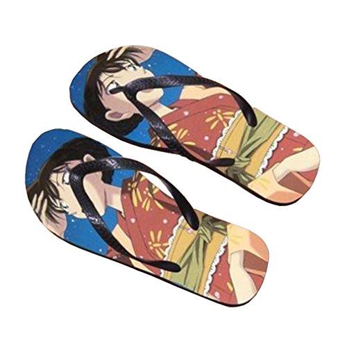 Bromeo Detective Conan Anime Unisex Flip Flops Chanclas 641
