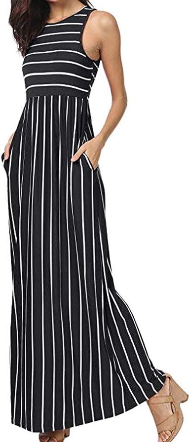 Vestidos Largo Mujer de Novia POLP Elegantes Tallas Grandes Vestidos,Fiesta Falda Espalda Abierta Vestido de Encaje Vestido Cintura Alta Mujer Vestidos de Fiesta