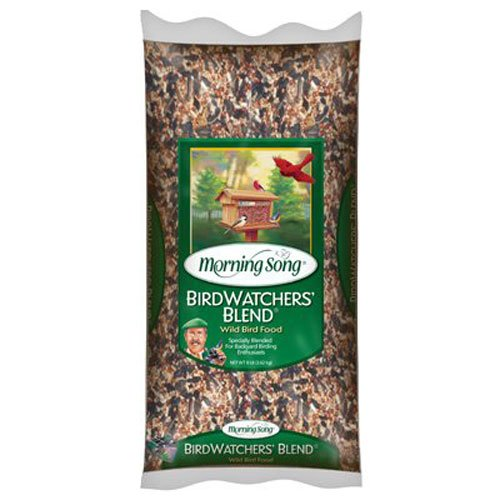 Morning Song 11957 Birdwatchers Blend - Wild Bird Food, 8-Pound by Morning Song
