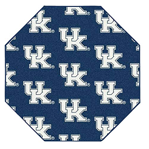 Ambient Rugs NCAA My Team College Repeating Rug Kentucky - 12' Octagon ()