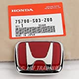 ek9 type r - Authentic OEM JDM Honda Civic EK9 Type-R Emblem Front 75700-S03-Z00