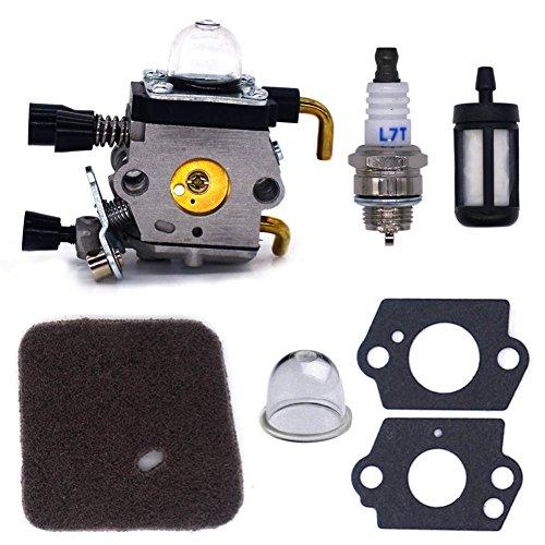 FitBest Carburetor for Stihl FS38 FS45 FS46 FS55 FS74 FS75 FS76 FS80 (Plug Carburetor)