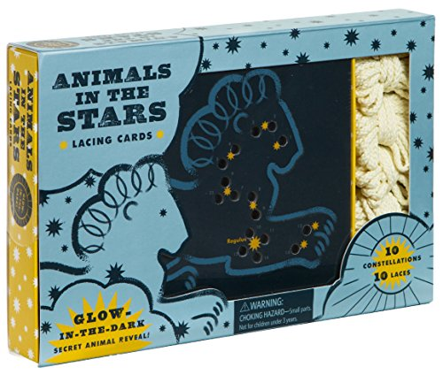 Animals in the Stars Lacing Cards by Chronicle Books (Image #1)