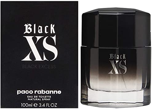 perfume pacco rabanne black xs edt 100ml