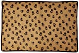 PU Health Soft Dog Paw Print Fleece Blanket