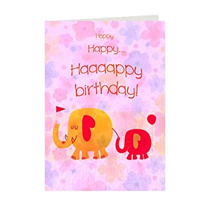 Buy Giftsbymeeta Happy Birthday Card For Friends Birthday Greeting